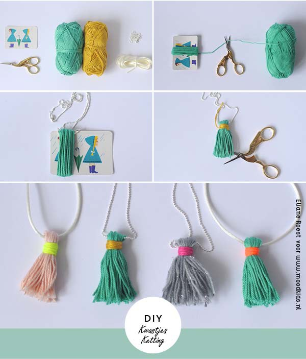 DIY moodkids blog ketting kwastjes