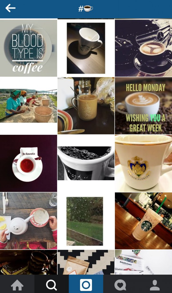 instagram_update_hashtag_emoticon_koffie