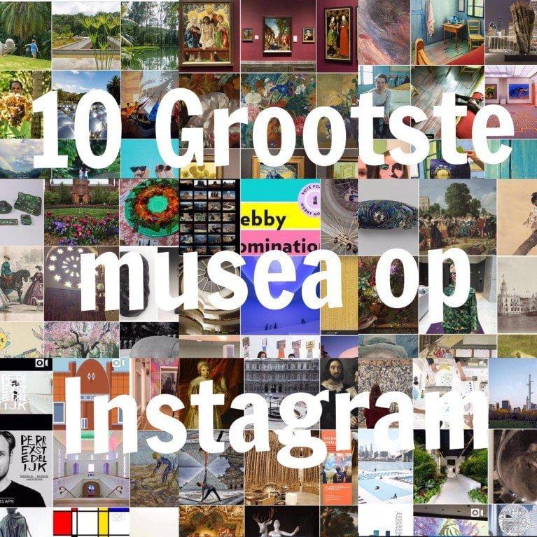 10 grootste musea op Instagram